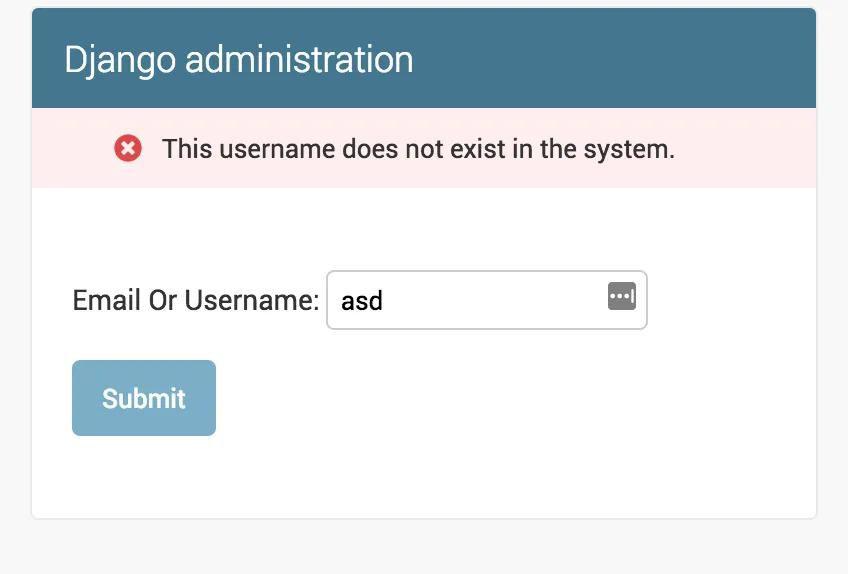 Implementation of 'Forgot/Reset Password' feature in Django